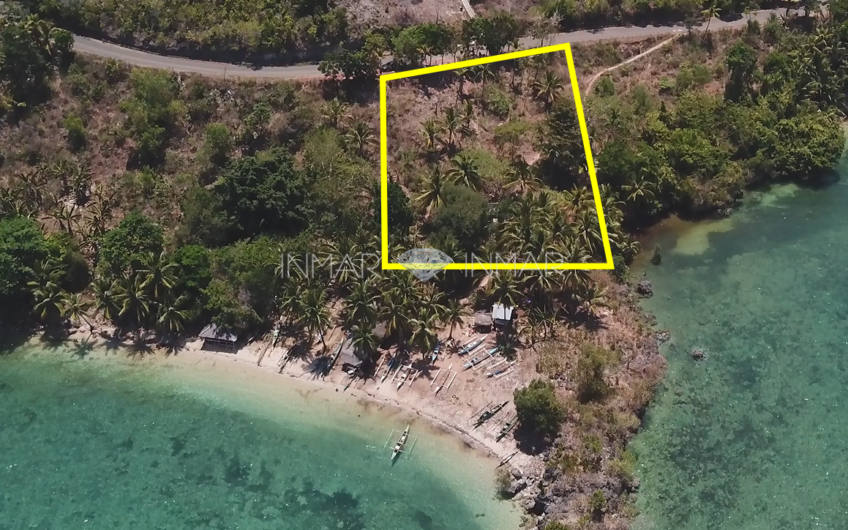 Lot for sale with cliff and white sand beach – San Isidro