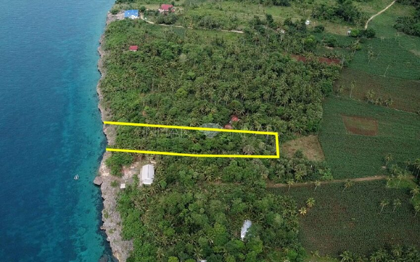 Beach Cliff Lot for Sale